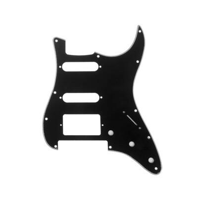 Brio HSS Floyd Rose Cut for Fender Strat 3 Ply Black