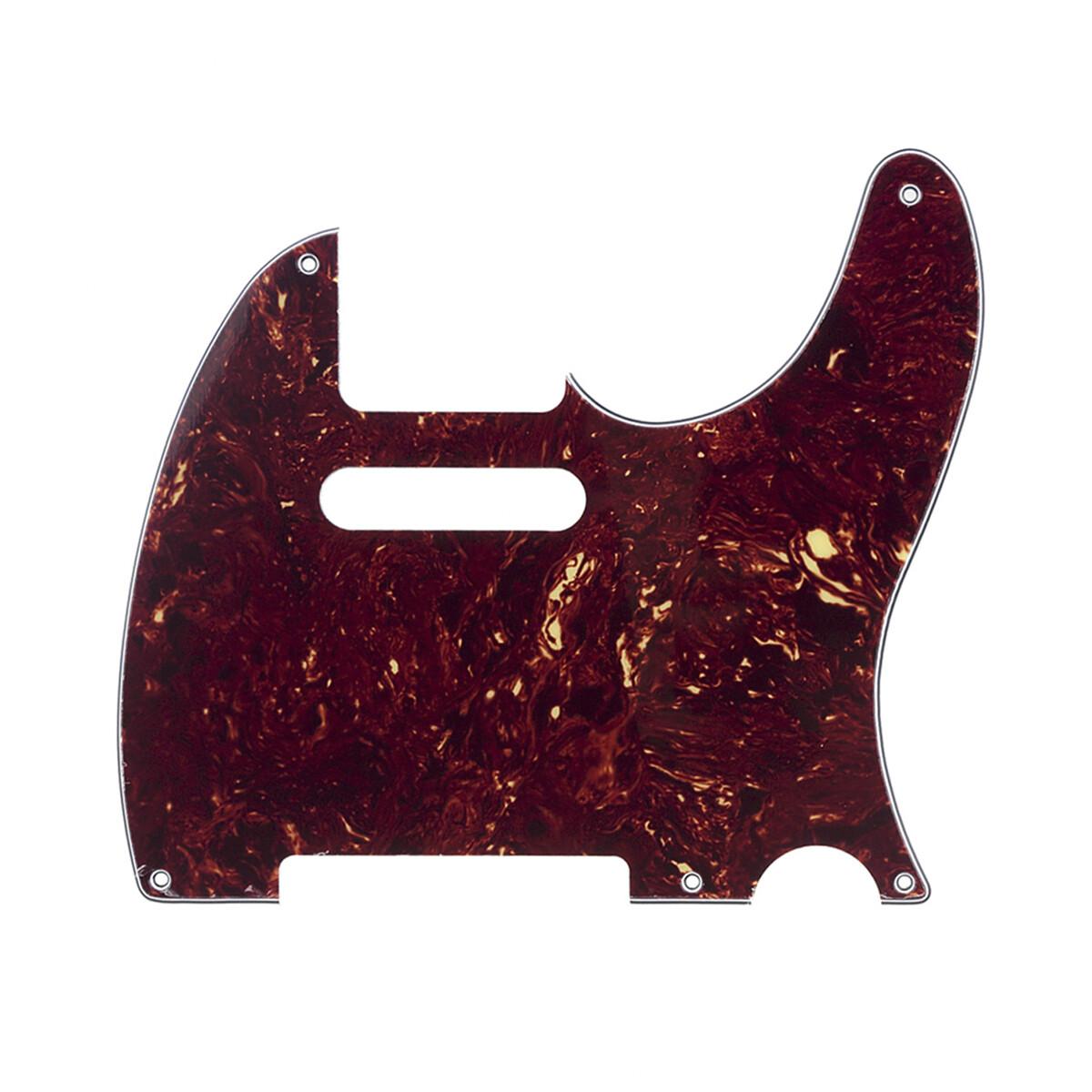 Brio 5 Hole Vintage Tele® Pickguard USA/Mexican Fender Standard Vintage Tortoise 4ply