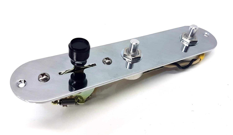 Carparelli Premium Pre-Wired Tele® Control Plate