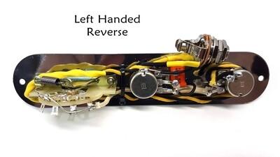 Carparelli Left Handed Reverse Tele® Style Control Plate
