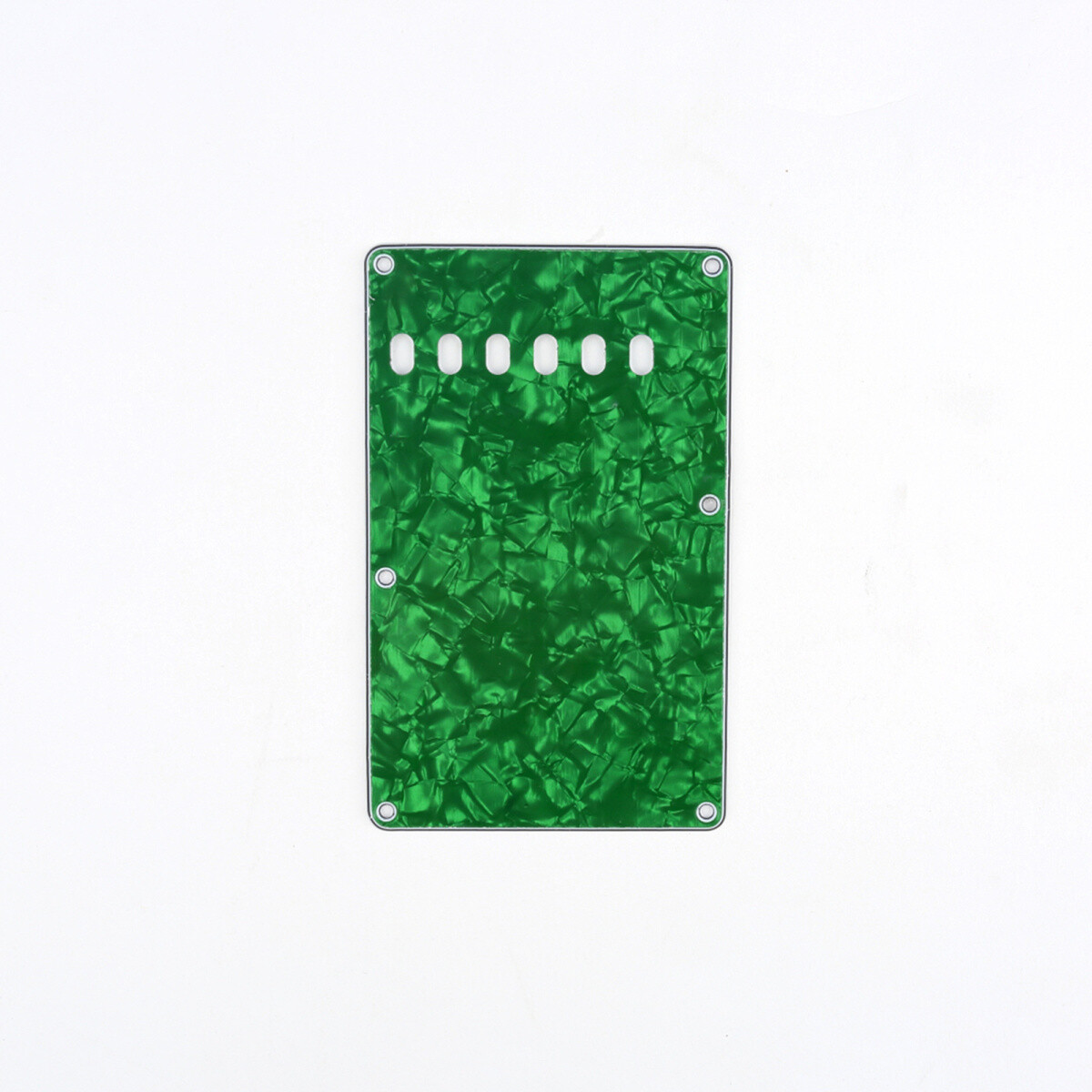 Brio Pearl Green Vintage Style Back Plate Tremolo Cover 4 ply - US/Mexican Fender®Strat® Fit