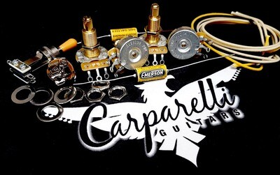 Carparelli Premium DIY Les Paul Kit or any Les Paul Style Arch Top Guitar