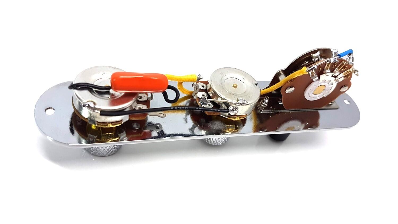 Brio Tele Harness Chrome,Gold,Black