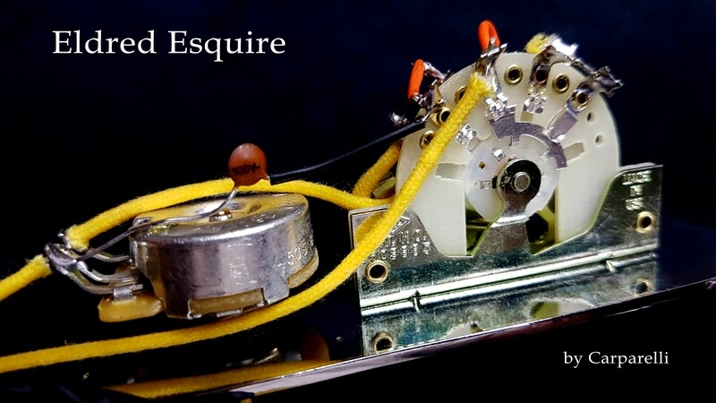 ESQUIRE WIRING HARNESS (ELDRED MOD)