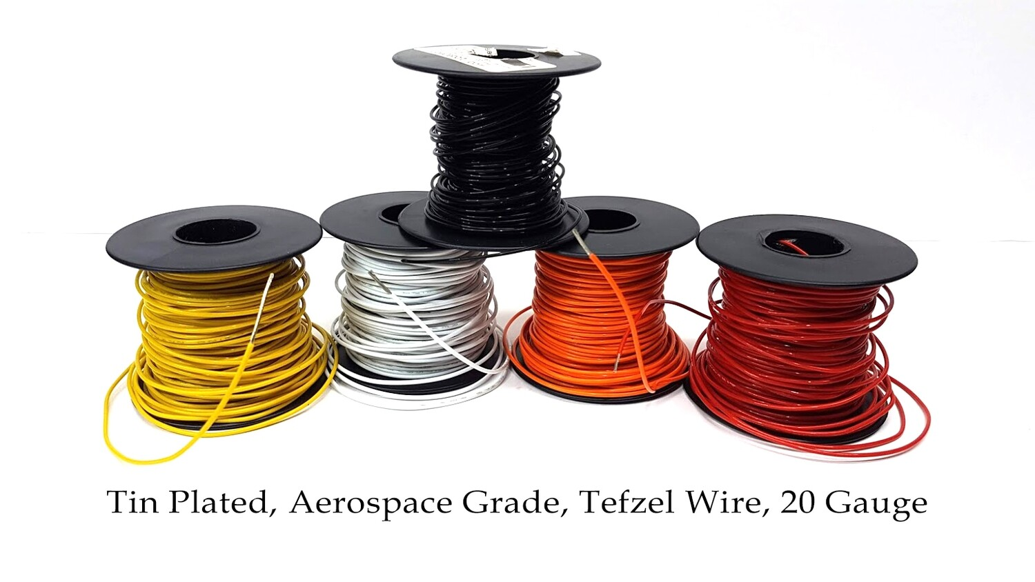 1 Foot Tin Plated, Aerospace Grade, Tefzel Wire