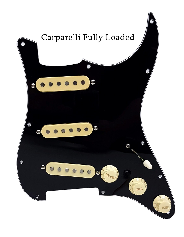 Carparelli Fully Loaded Strat® Pickguard