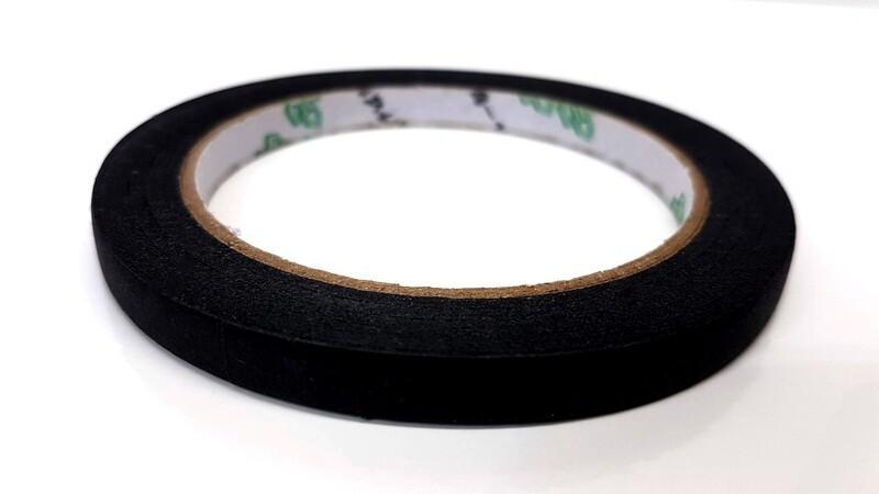 Black Textured Paper Pickup Tape for humbucker & single coils.