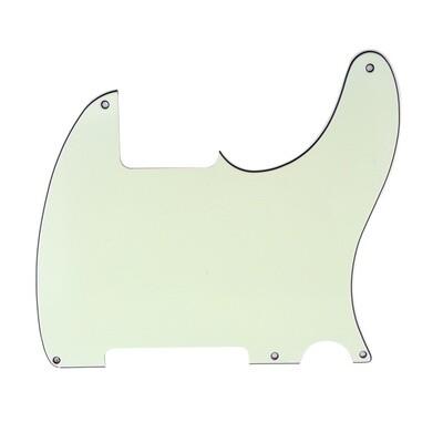 Brio Vintage Esquire 5 Hole Tele® Pickguard RH 3 Ply Ivory