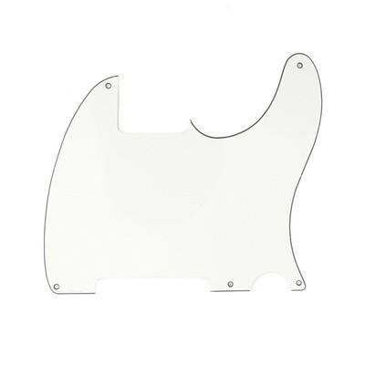 Brio Vintage Esquire 5 Hole Tele® Pickguard RH 3 Ply Parchment