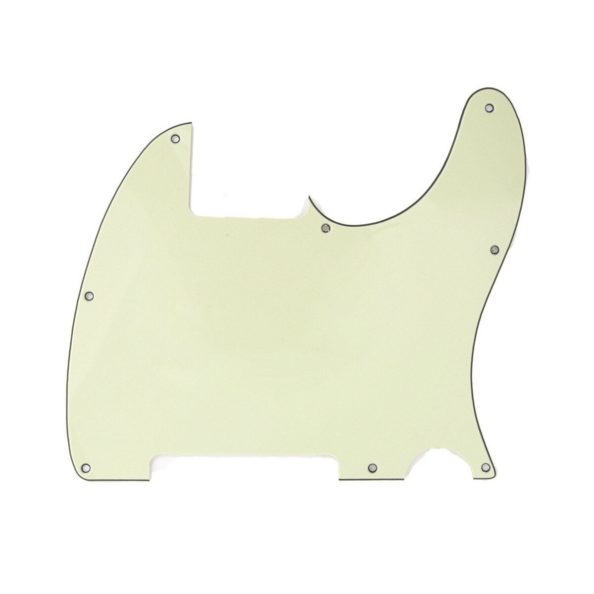 Carparelli Vintage Esquire 8 Hole Tele® Pickguard RH 3 Ply Mint Green