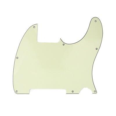 Brio Vintage Esquire 8 Hole Tele® Pickguard RH 3 Ply Mint Green