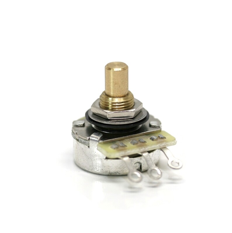 Karat 250K Premium Quality Brass 15mm, Gold Plated Sweeper, Solid Shaft (6.35mm)Potentiometer