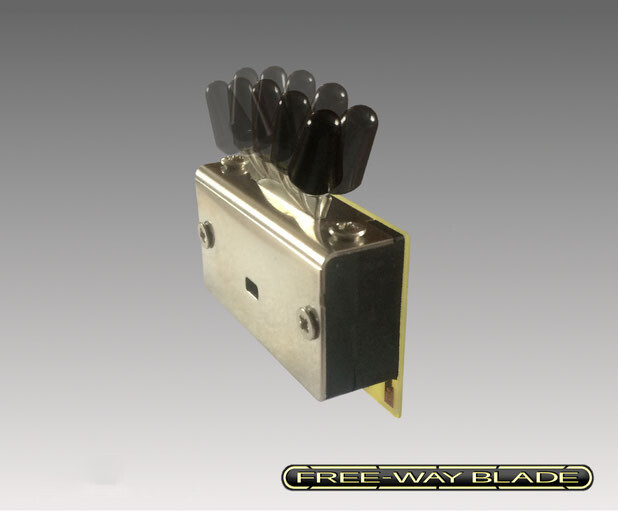 Free-Way 5B5-02 5-WAY/10-POSITION PICKUP SWITCH (HSH & HHH Guitars)