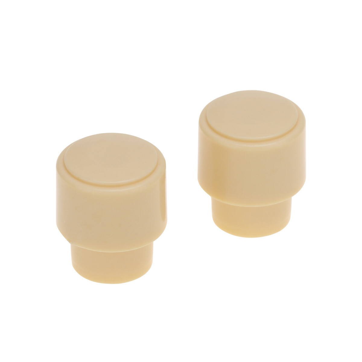 2 x USA Size Telecaster Barrel Switch Tip ( CRL ) Cream