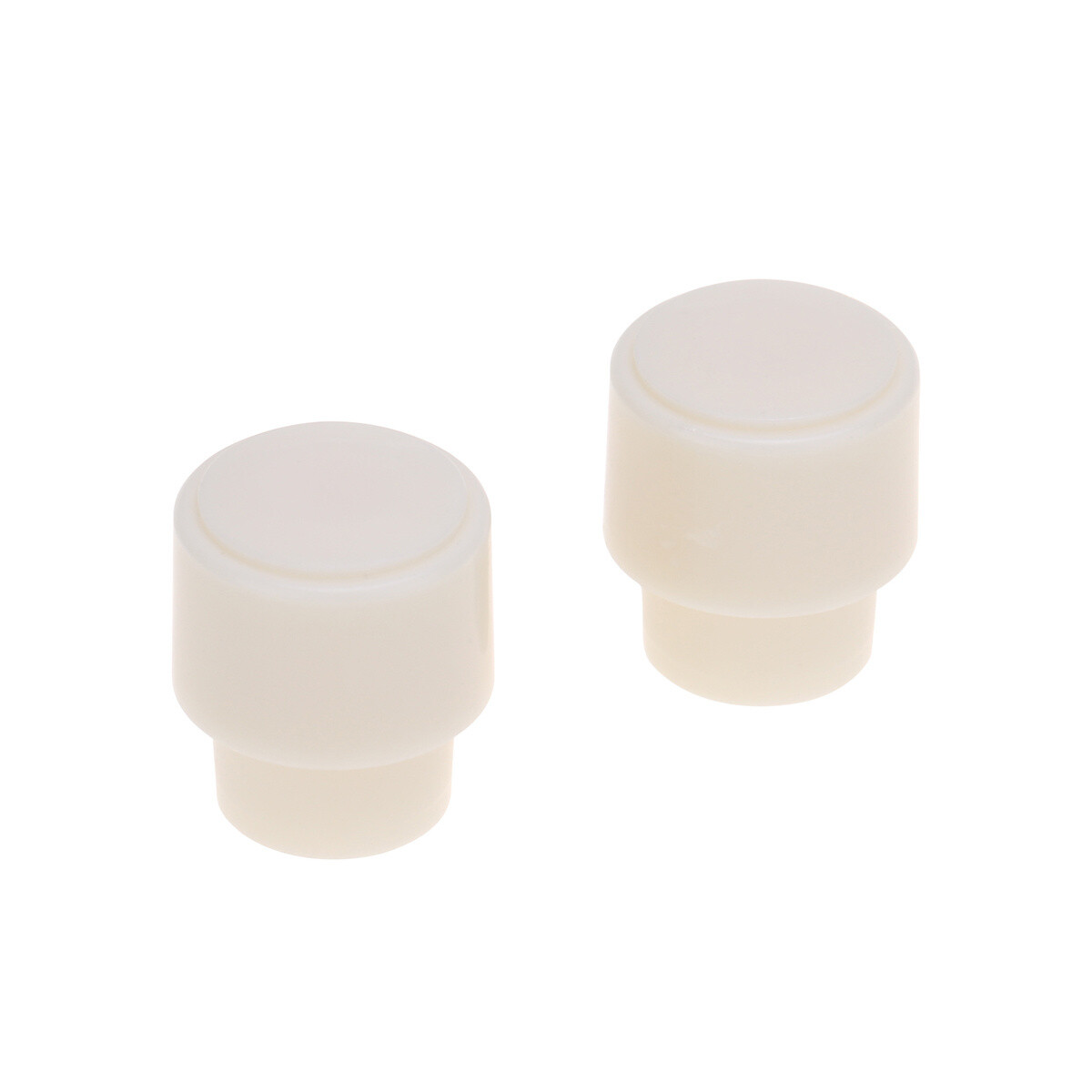 2 x USA Size Telecaster Barrel Switch Tip ( CRL ) Parchment. ( Aged White )