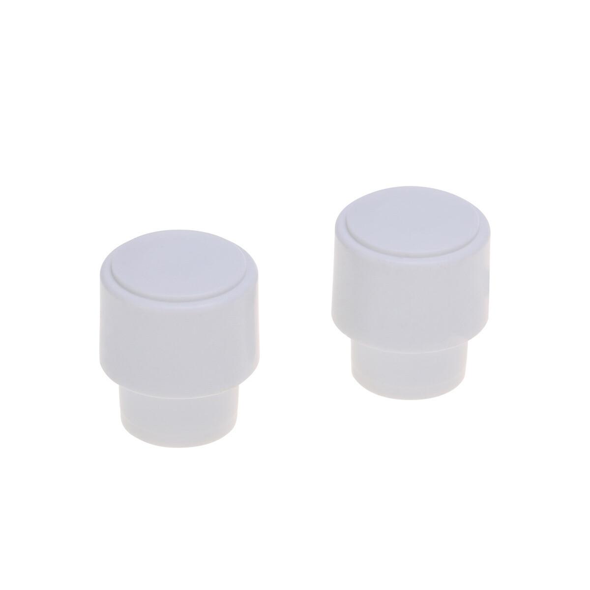 1 x USA Size Telecaster Barrel Switch Tip ( CRL ) White