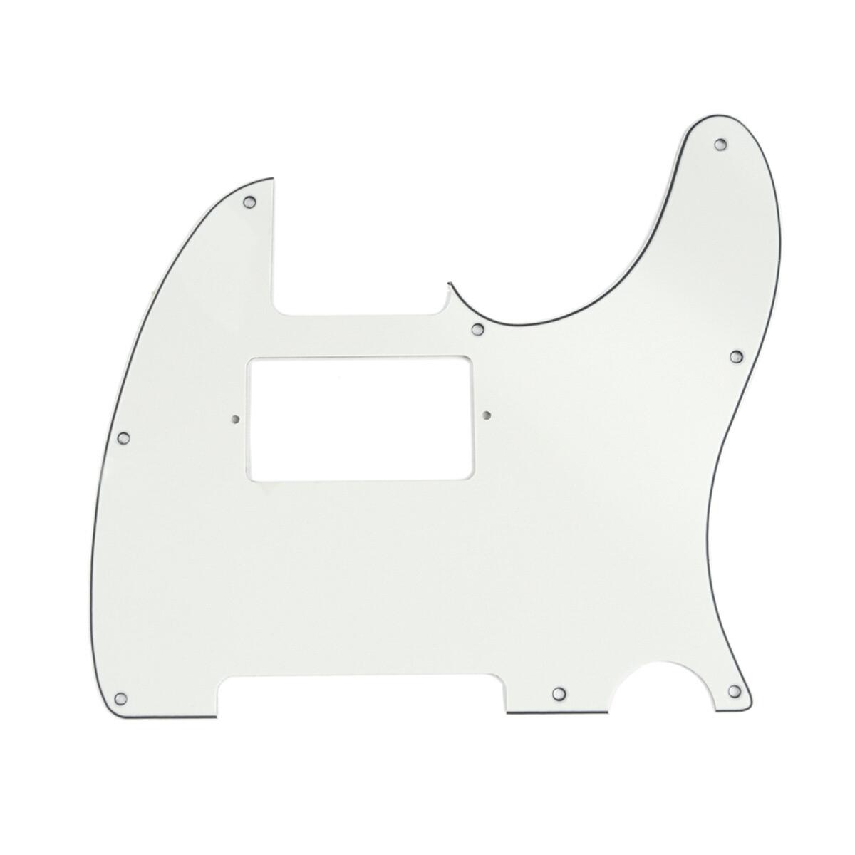 Brio Tele® Humbucker 8 hole 3 ply Parchment