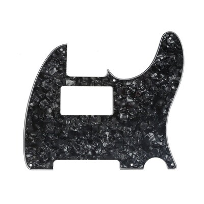 Brio Tele® Humbucker 8 hole 4 Ply Pearloid Black