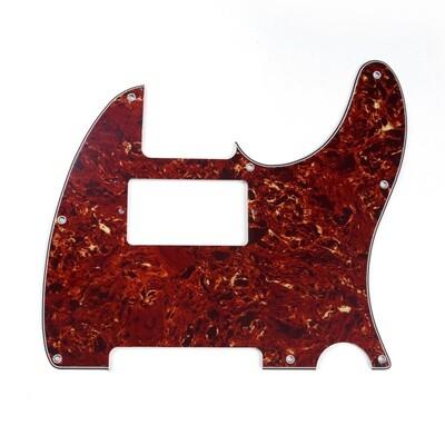 Brio Tele® Humbucker 8 hole 4 ply Pickguard Vintage Tortoise