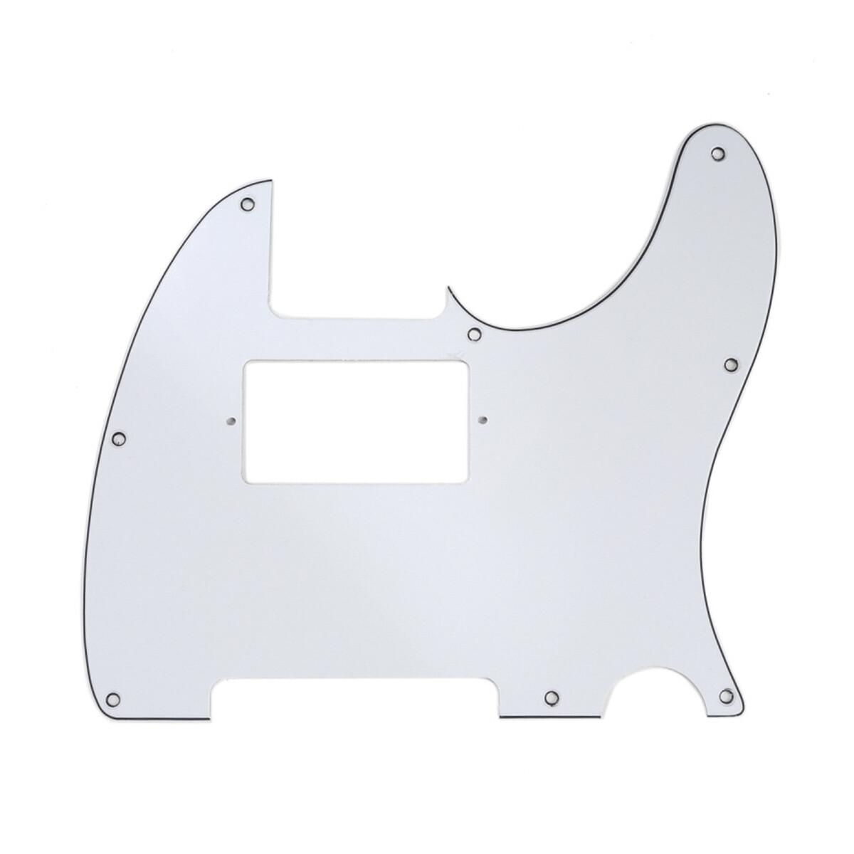 Brio Tele® Humbucker 8 hole 3 Ply White