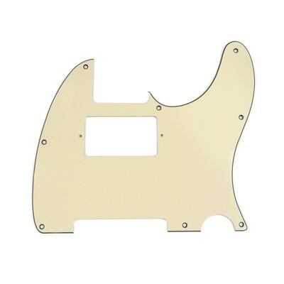 Brio Tele® Humbucker 8 hole 3 ply Cream