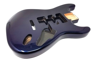 Brio 3pc Alder Strat Guitar Body HSH Blurple