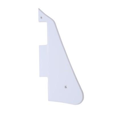 Brio- Gibson® Les Paul® Pickguard Modern Style 1 Ply White