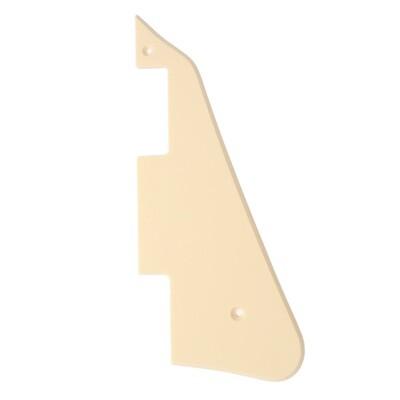 Brio- Gibson® Les Paul® Pickguard Modern Style 1 Ply Cream