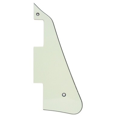 Brio- Gibson® Les Paul® Pickguard Modern Style 3 Ply Ivory