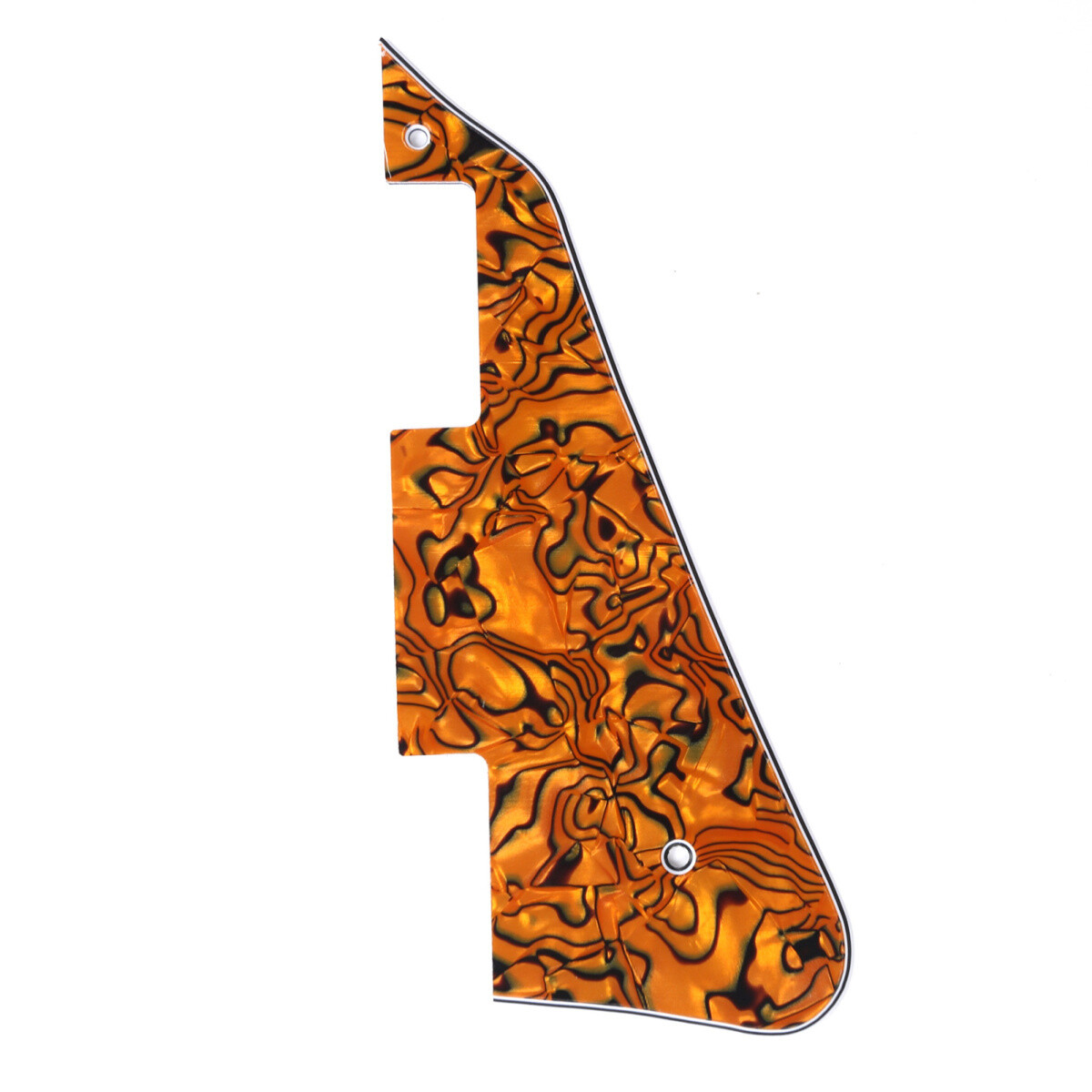 Brio - Gibson® Les Paul® Pickguard Modern Style 4 Ply Tiger Shell