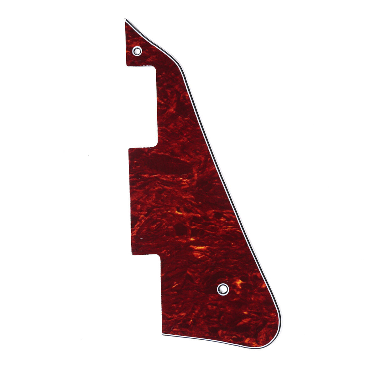 Brio - Gibson® Les Paul® Pickguard Modern Style 4 Ply Red Tortoise