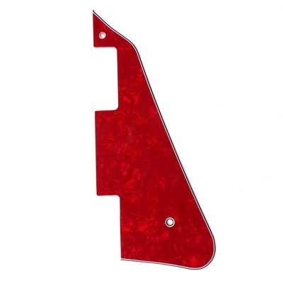 Brio - Gibson® Les Paul® Pickguard Modern Style 4 Ply Pearl Red