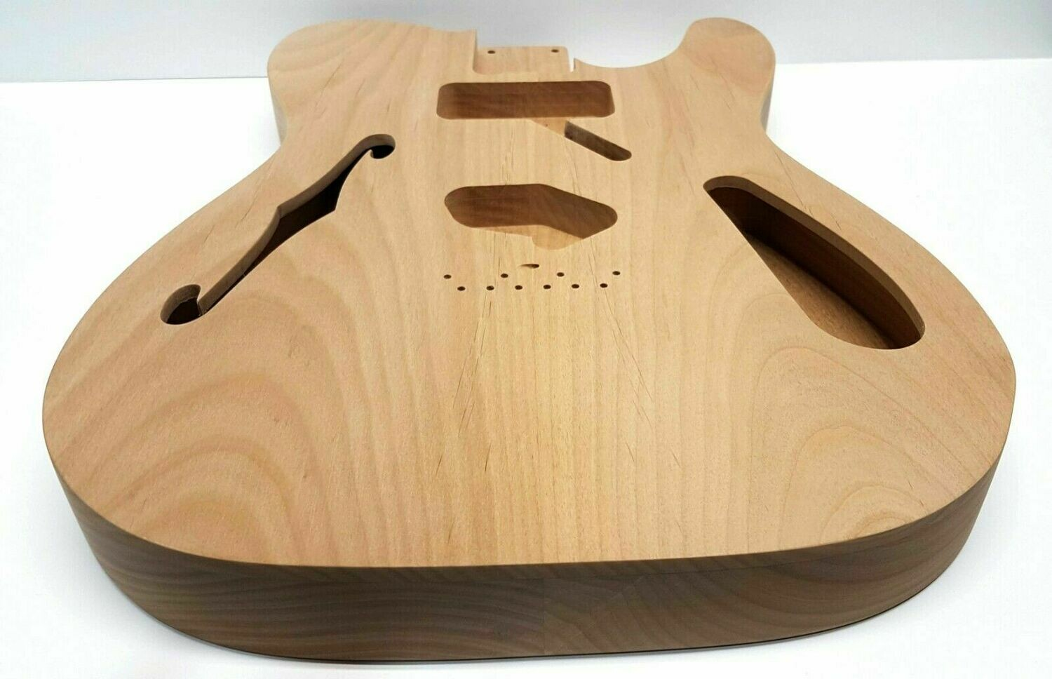 Brio Thinline Red Alder H/S Telecaster® Style Body Unfinished 3.0lbs Unfinished