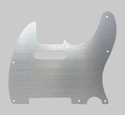 Brio Aluminum 8 Hole Guitar Tele® Pickguard Aluminum