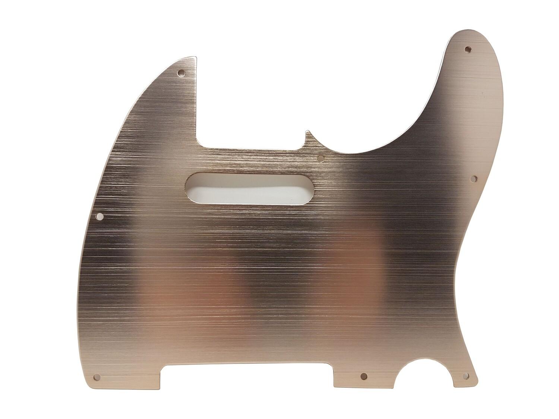 Brio Aluminum 8 Hole Guitar Tele® Pickguard Light Copper