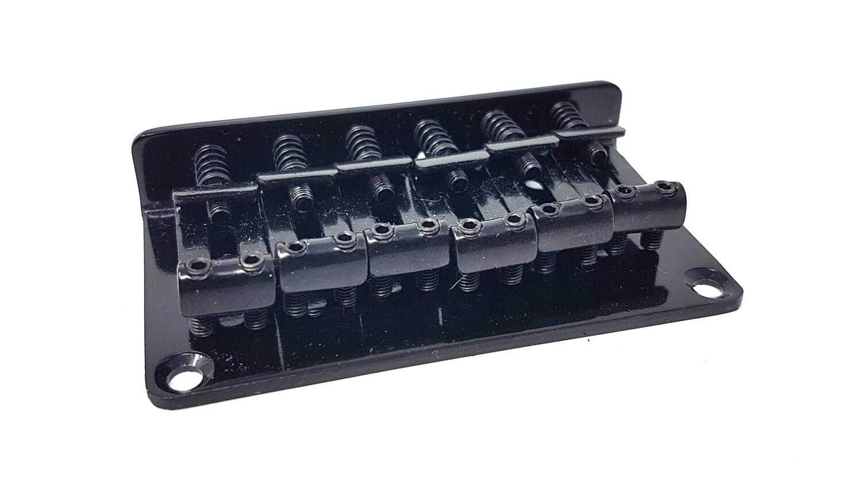 Hardtail Top & Bottom Loader Bridge Stratocaster Telecaster Black