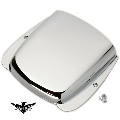 High Quality Steel Bridge Cover for Fender Jazz Bass with Screws - CHROME
