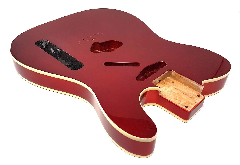 Brio T-Style Body Vintage Bridge Cut Metallic Red (Candy Apple)