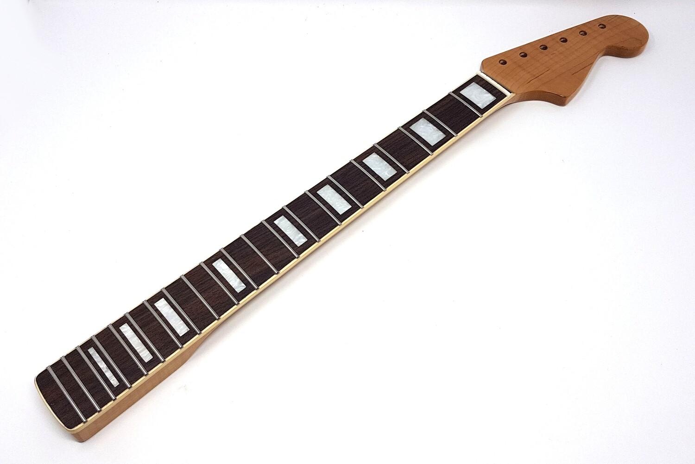 Brio Jazzmaster Roasted Highly Flamed Maple Rosewood Neck Roasted