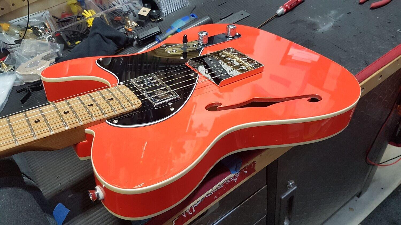 SOLD Carparelli Qster-006 T-Style Orangy Reddish