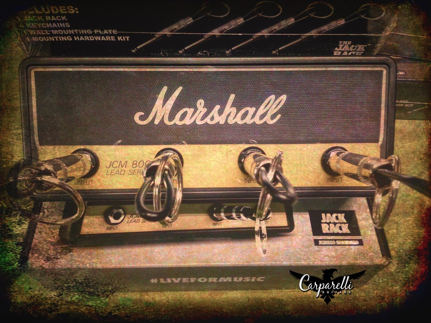 Official licensed Marshall Standard JCM800 Amplification