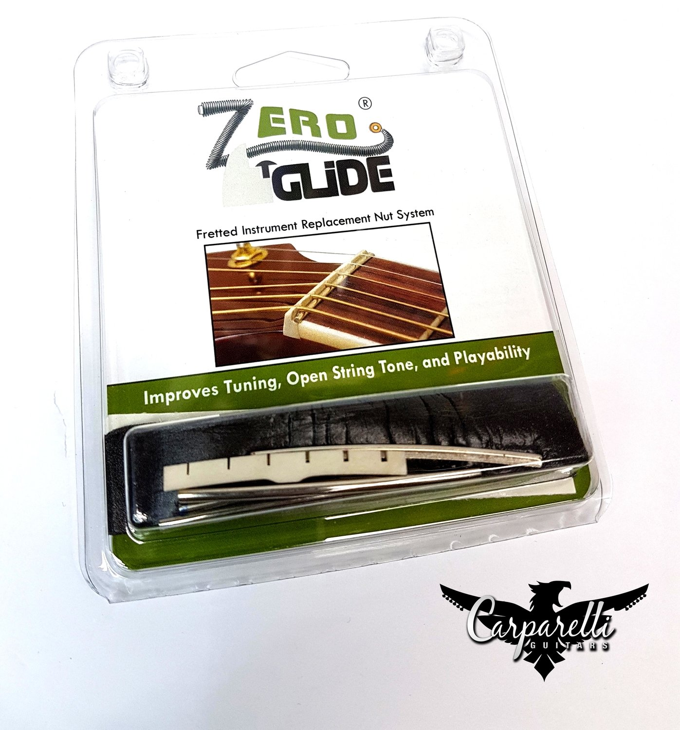 Zero Glide ZS-1 Slotted Replacement Nut for Tele or Strat