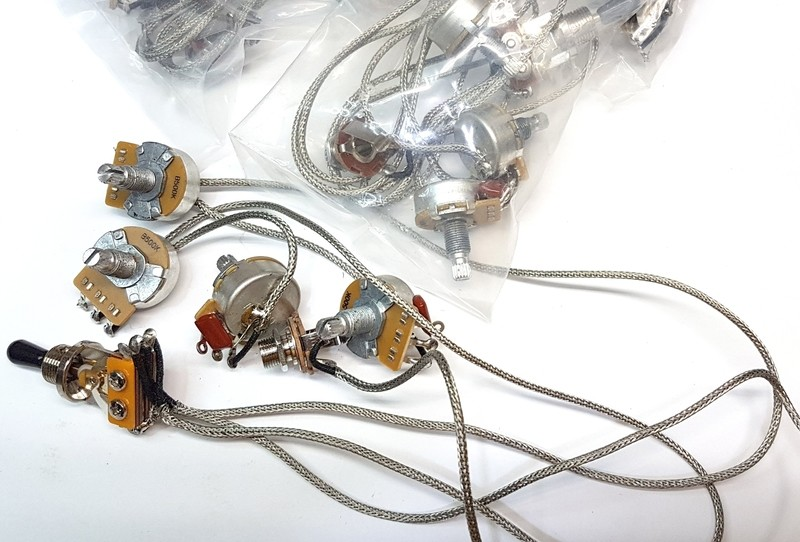 Full LP Style Metal Insulated Wire Harness