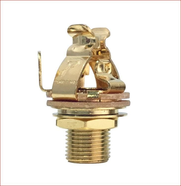"Pure Tone Multi-Contact 1/4"" Output Jack Gold"