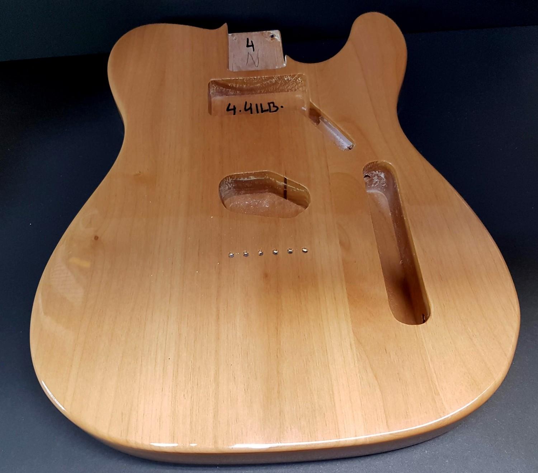 Alder Body for Telecaster Guitar Natural