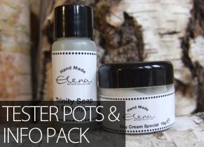 Tester pots + Free GP Information Pack