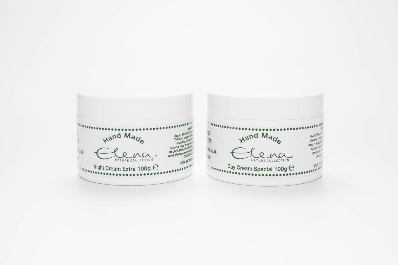 Day Cream Special & Night Cream Extra (100g each)