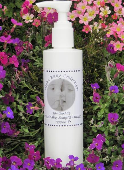 Alpha Baby Soap & Shampoo (200ml)
