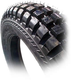 "Tire, Front, IRC - 2.75 x 21"" (Tubeless TR11 Competition)"