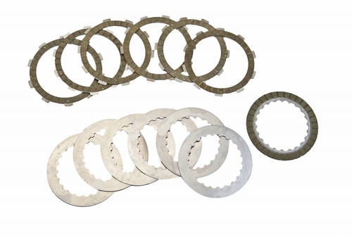 Clutch Disc Set (Friction & Steel) - Gas Gas - Surflex - 12 Pieces